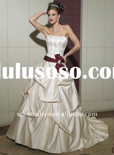 Top Designer Ball Gown Forever New Strapless Layer Wedding Dress