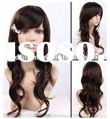 Top good quality most popular and best selling beautiful curly 22 inch black indian hair lace front