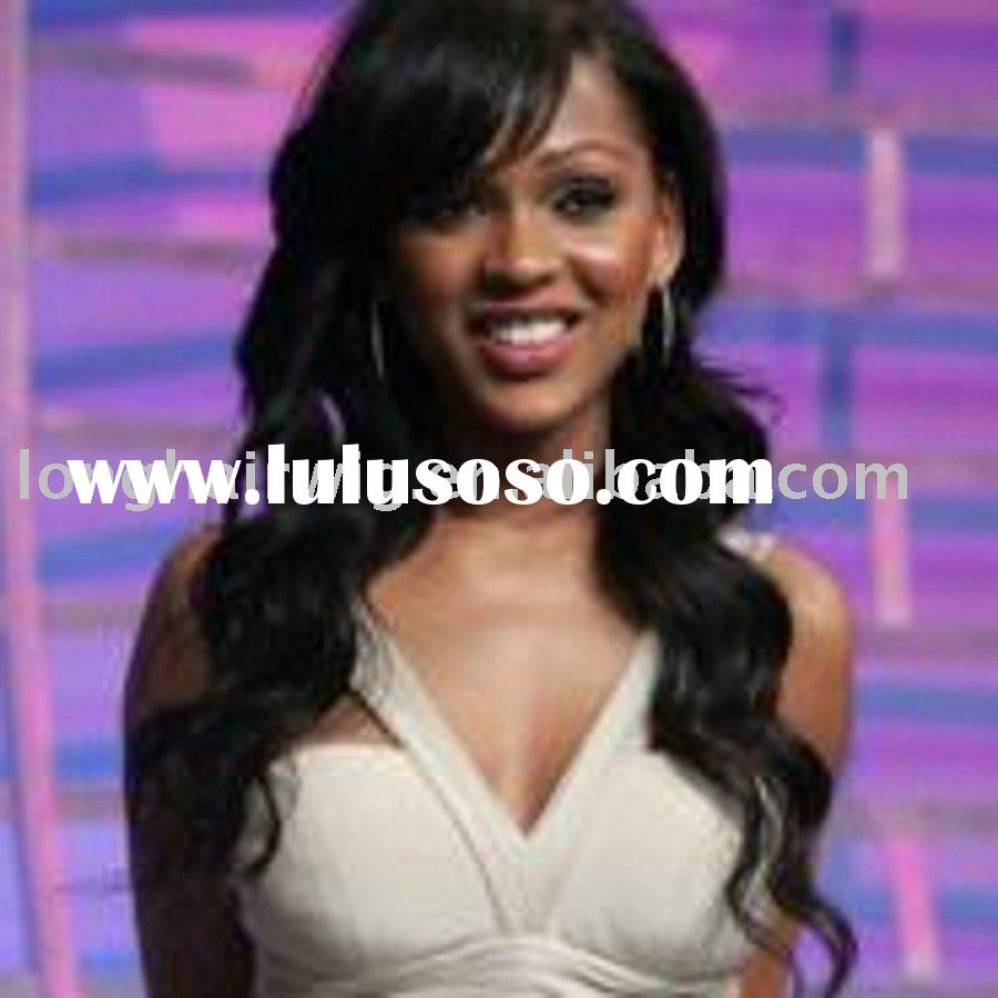 Top quality brazilian hair lace wig for black women