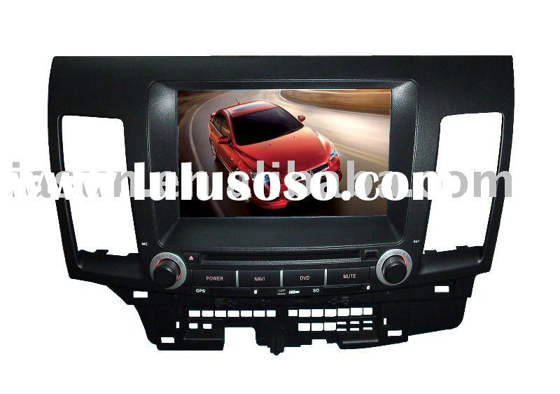Touch screen double din car DVD GPS MITSUBISHI LANCER EX