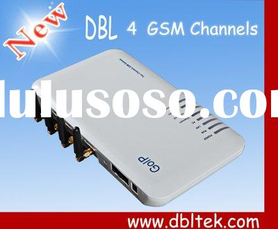 VOIP GSM Gateway with 4 SIM Cards in