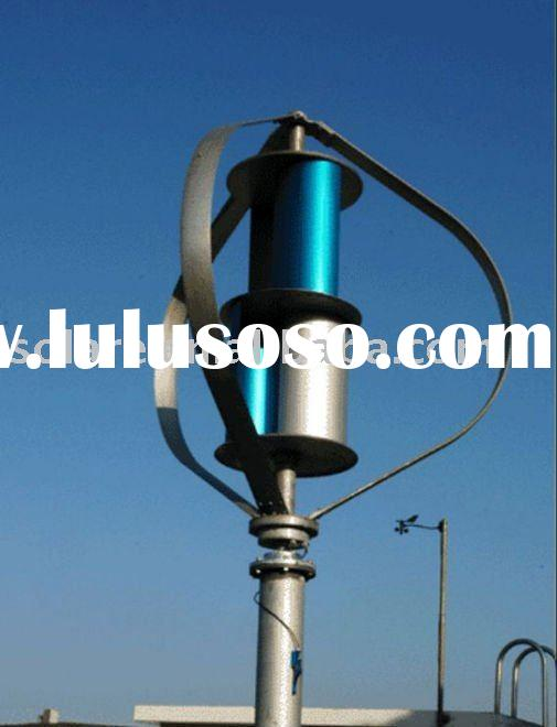Vertical axis wind generator 1500W for home system CE,TUV