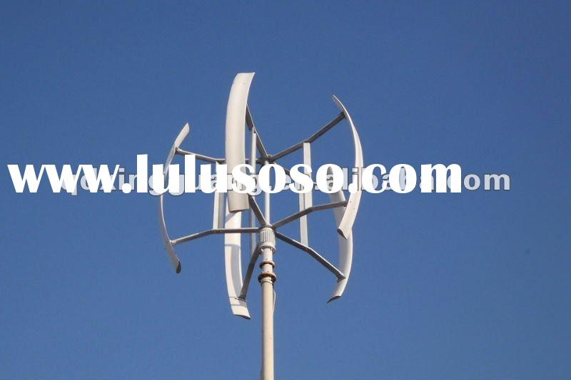 Vertical wind turbine 3kw for urban use