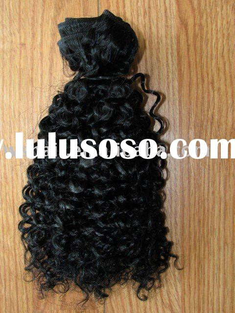 WSHB063:Indian Remy Kinky Curly Hair Weaving