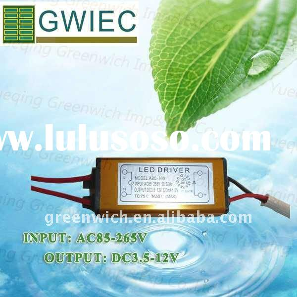 Waterproof & Constant Current LED Driver Power Supply