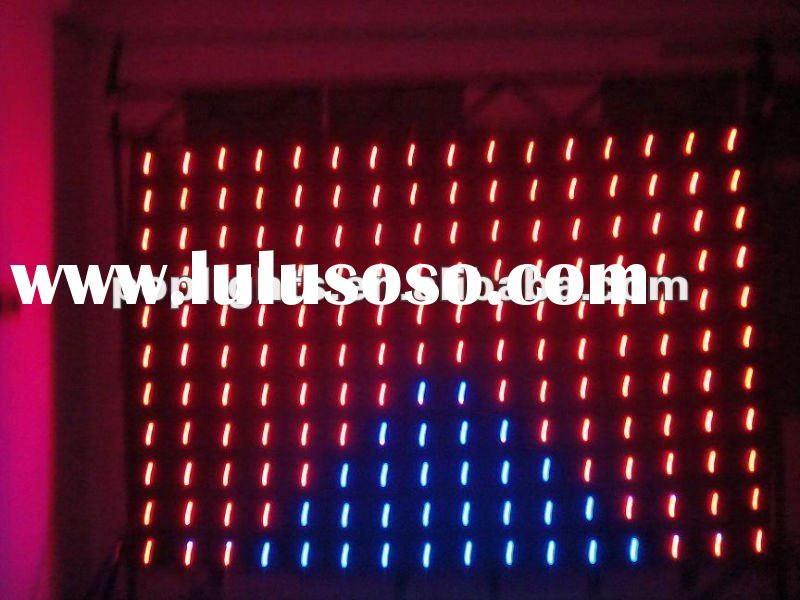 Waterproof Soft led vision curtain / LED video curtain /stage light
