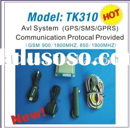 (CE/FCC/RoHS)Web-based Online AVL Car Tracking System (GPS/SMS/GPRS,Open Protocal) (TK-310)