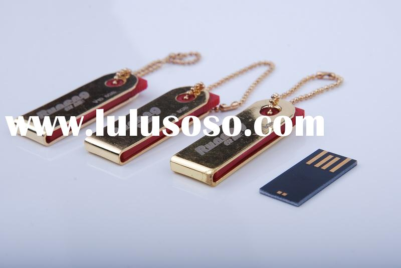 (Chip On Board/COB)Aluminium/Stainless Steel Waterproof Mini USB Flash Drives/Disk/Memory/Key/Gift 1