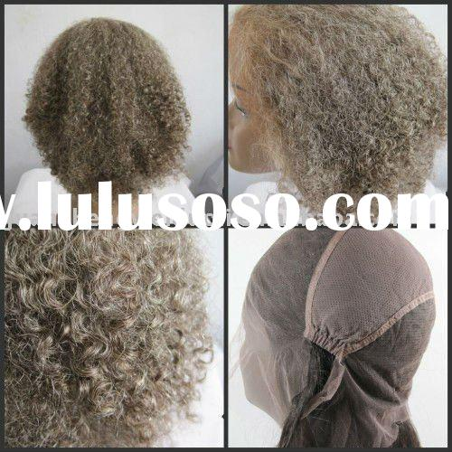 afro curly hair weft