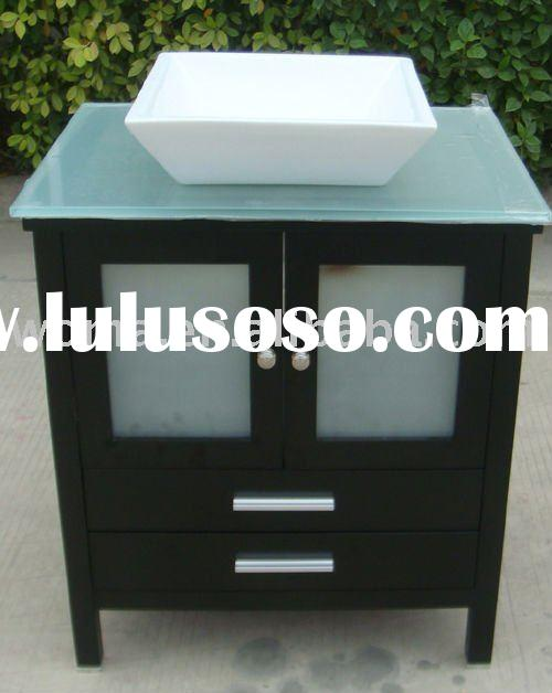 bathroom vanity cabinet ,mounting ceramic basin