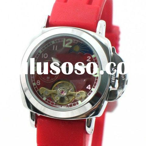 brand name watches,red color