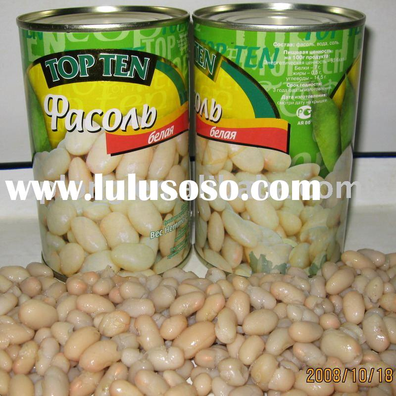 canned white kidney beans in brine(white beans)