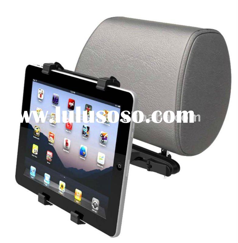car red leather case with stand for ipad 2for Ipad