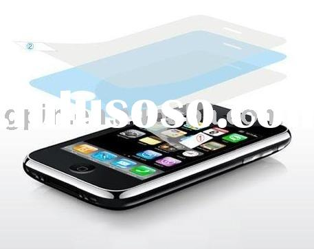 colorful screen protector for iPhone 3G/screen protective film/screen guard/ screen ward for iphone