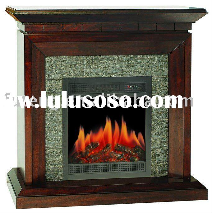 Decor flame effect electric fireplace heaters portable for Decor flame electric fireplace
