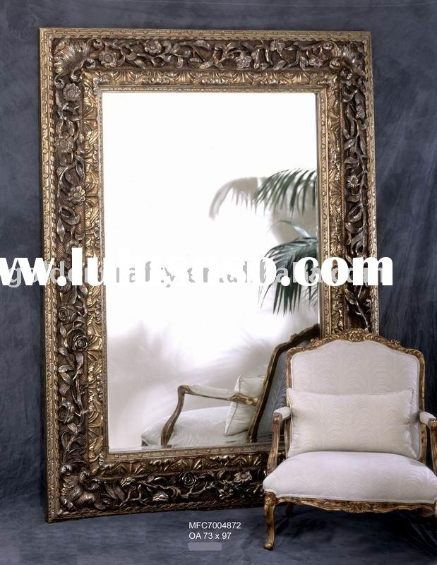 Large floor mirror frames standing mirror for sale price for Large decorative floor mirrors