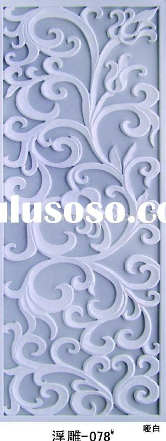 decorative interior wall Carved panel