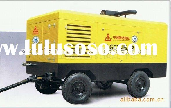 diesel driven portable screw air compressor LGCY-7.5/7