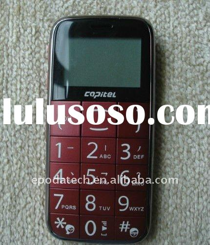 dual band one sim card senior phone W03 with CE and ROHS with big keyboard and SOS