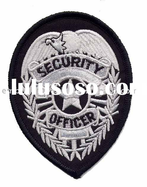 embroidered security badges for army uniform