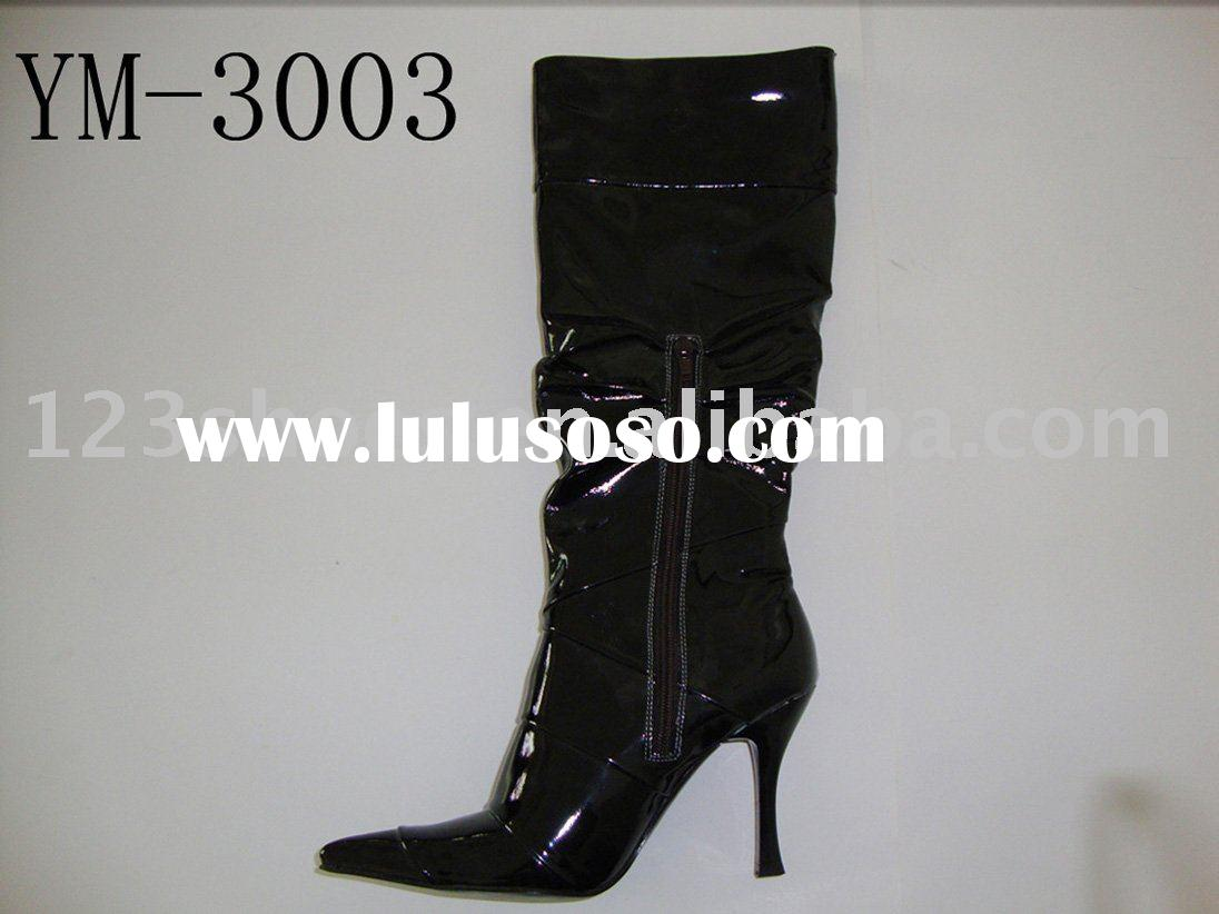 fashion ladies boots, high heel boots