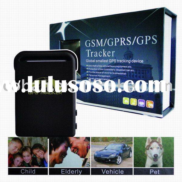 gprs gps tracking device car with Powerful magnet+water proof/WAP-track by PDA cell phone./real-time