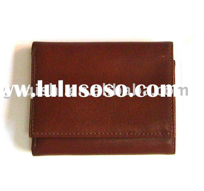 high quality genuine leather men's wallet