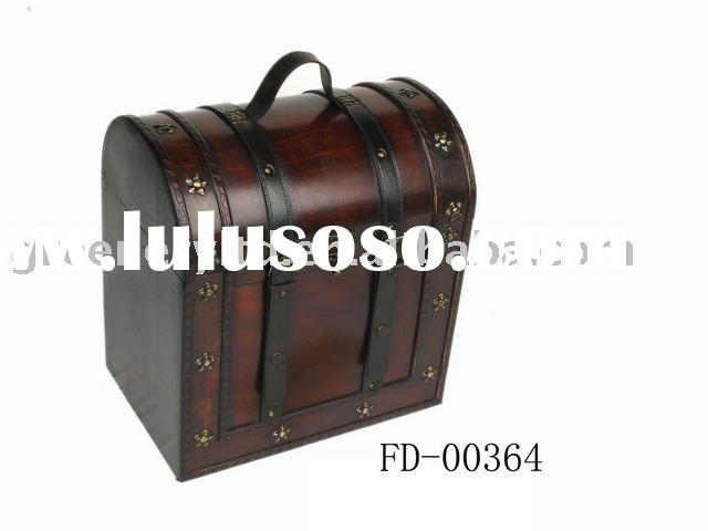 home decoration;wooden craft;wooden gift box; wooden trunk