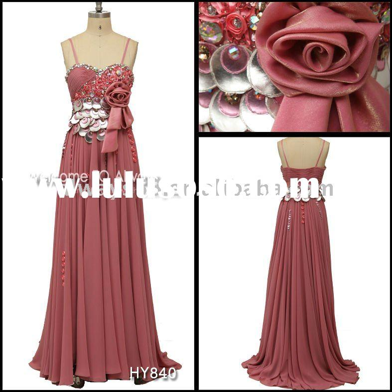 hot sell xxl evening formal dress hy840