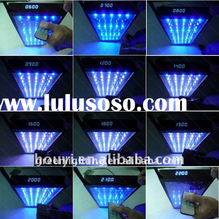 infrared remote control automatic 240w led aquarium light for coral
