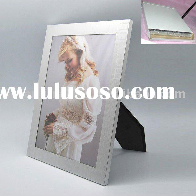 large size photo frame A4 metal picture frame