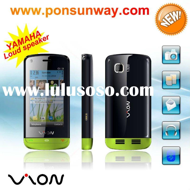 low cost cellphone touch screen telephone 3 speaker Hotselling cheapest China mobile phone