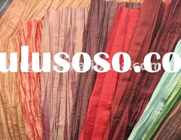 nylon and poly crinkle fabric