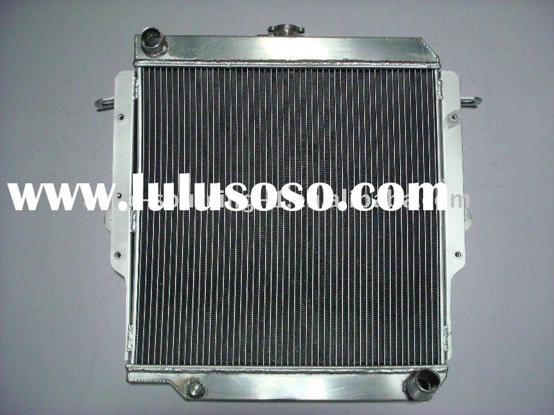 performance racing auto Aluminum Radiator For TOYOTA landcruiser HZJ75 75 SERIES MT 90-01 DIESEL 1HZ