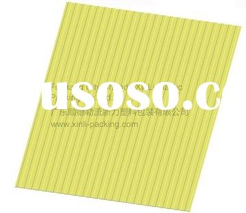 plastic UPVC heat insulation tri-ply co-extruded roof tiles/roofing sheet-XL-H010/plastic panel