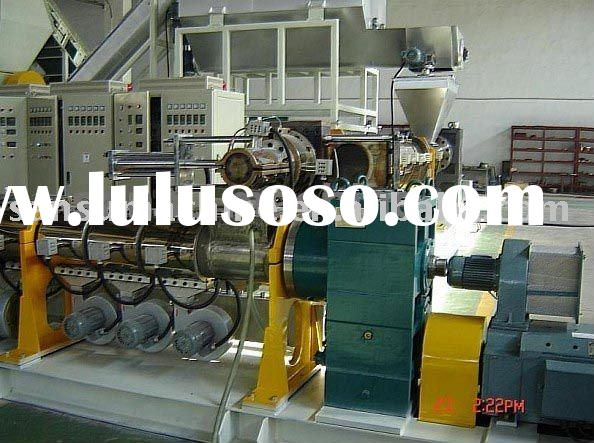 plastic product washing&granulation recycle line/waste plastic recycle machine