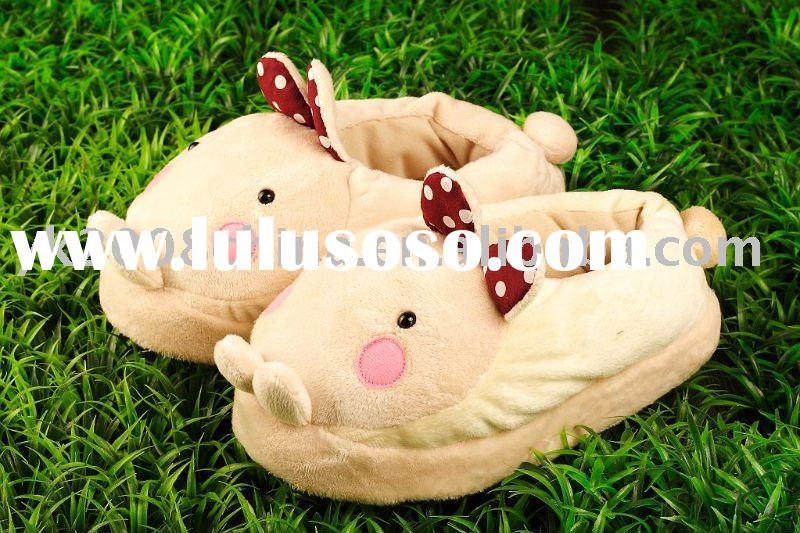 plush and stuffed indoor slippers toy