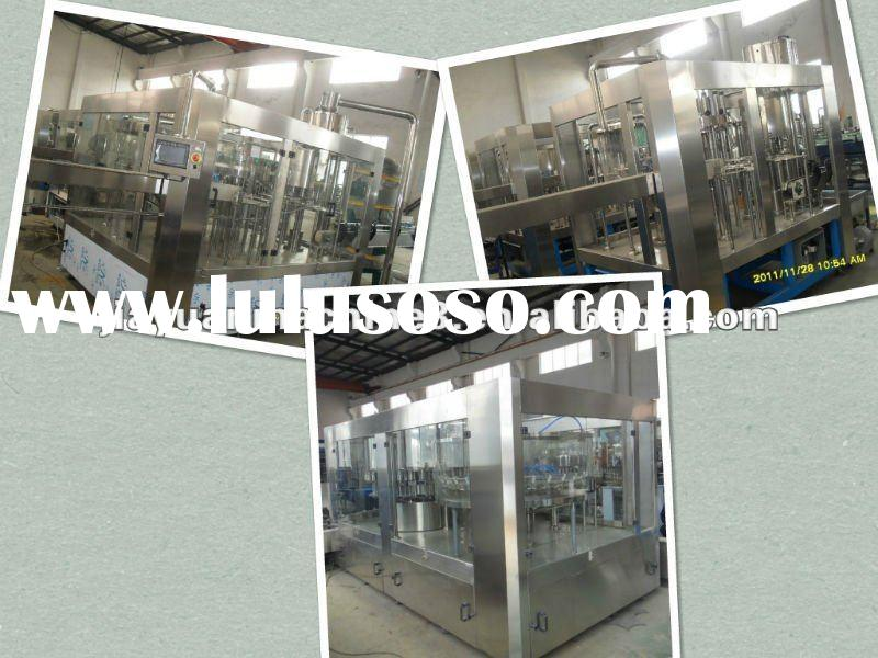 pure water filling machine for pet bottle(CGF24-24-8)