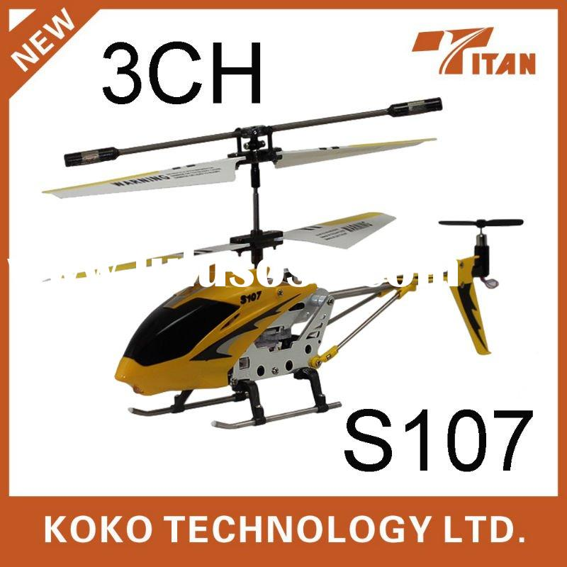 rc Toy Syma S107 3ch mini rc helicopter hot