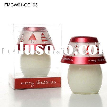 red christmas candles,gift candle ,decorative candle, craft candle
