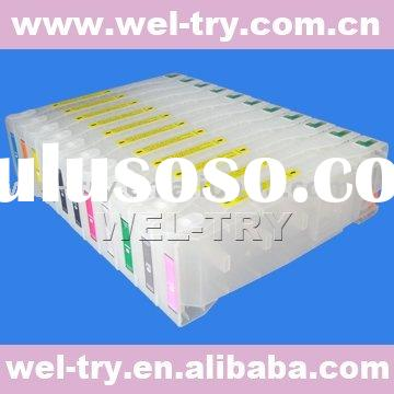 refillable /compatible ink cartridge,chip resetter(waste ink tank)for Epson pro 9700/7700(PRO9700,Pr