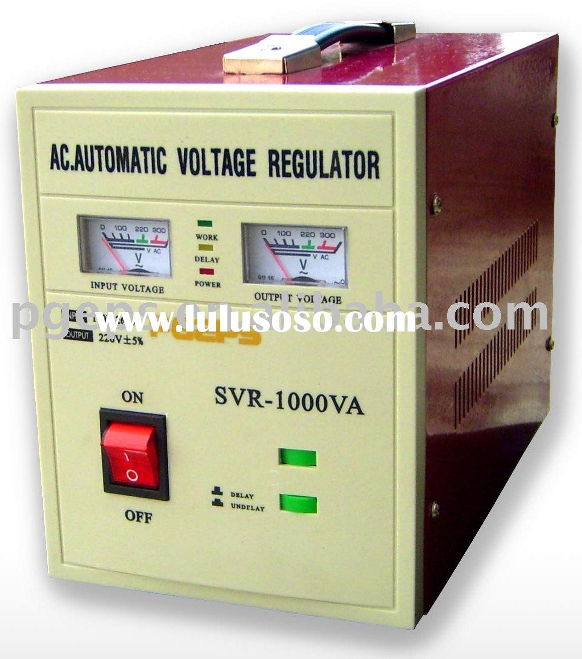 relay type AC automatic voltage regulator