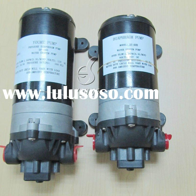 small electric high pressure water pump