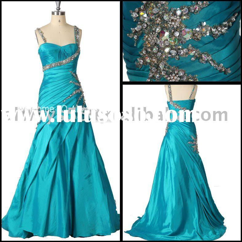 special sleeves formal evening dress wy470