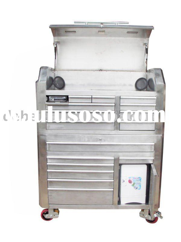 stainless steel tool cabinet, garage tool storage
