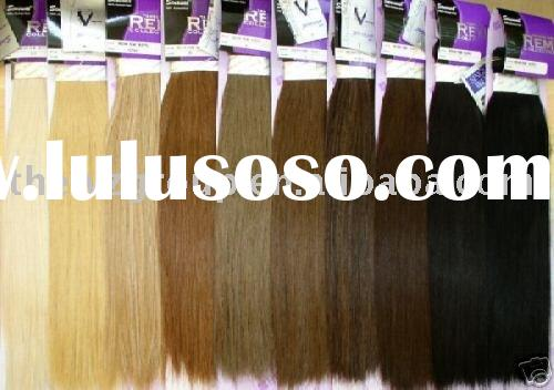 super quality indian color hair extension wholesale accept sample order