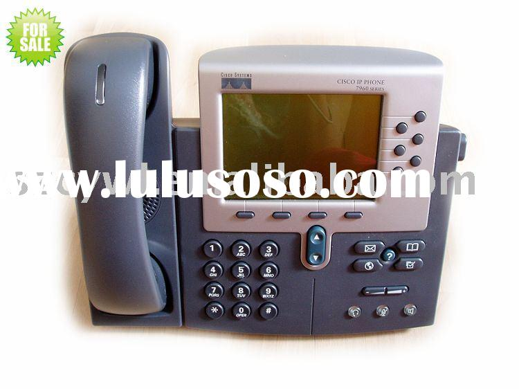 used cisco IP Phone 7960G,VOIP GATEWAY