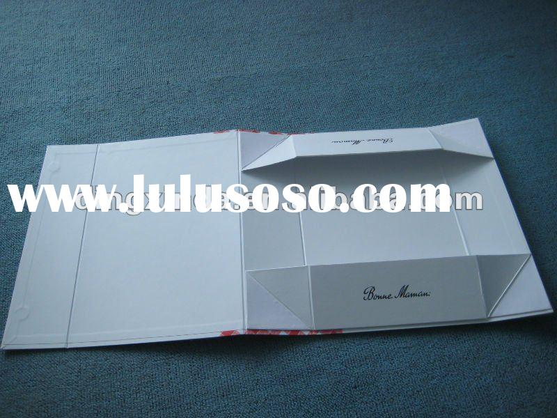 ustomized folding paper box with exquisite printing