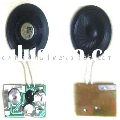 voice recorder chip for greeting cards/ greeting card sound device