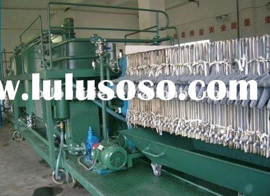 waste motor engine oil recycling machine system egeneration oil treatment oil purification oil filtr